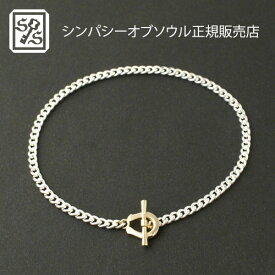 SYMPATHY OF SOUL 別注 Horseshoe Chain Bracelet