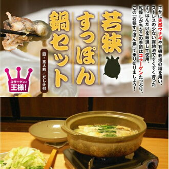 Posted products ★ FBC mother was featured in the TV • gifts pot gift ◆ Hernandez beautiful pans 1 place acquisition ★ plenty of hotpot 800 g of high-quality! [Wakasa turtle / pot set / turtle / store / pan set,