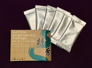 【抹茶/Matcha】京都宇治【山政小山園】抹茶一服パック(1.5g×6袋)<茶道>