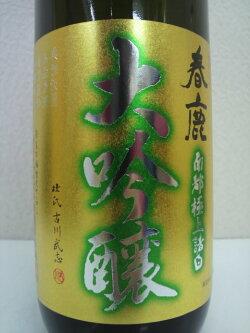 春鹿純米大吟醸金ラベル720ml