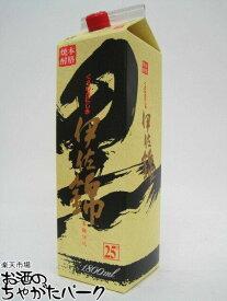 大口酒造 黒伊佐錦 紙パック 芋焼酎 25度 1800ml
