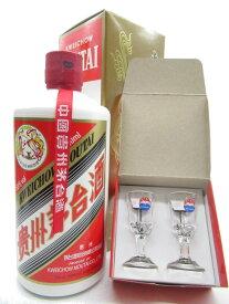 飛天牌 貴州茅台酒 (キシュウマオタイシュ) グラス2個付き 53度 500ml