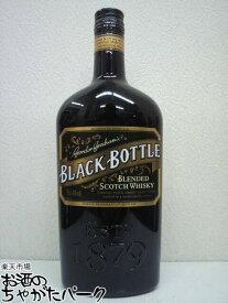 ブラックボトル 平型ボトル 並行品 40度 700ml
