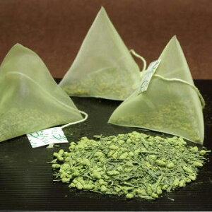 緑茶パック、抹茶入り玄米茶ティーバッグ