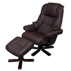 ロッキングチェアー オフィスチェア 椅子 リクライニングチェア いす イス 合皮 ポップデザイン ブラウン プレゼント 父の日 おしゃれ