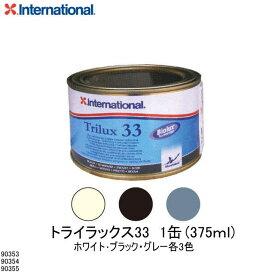 90353・90354・90355《船底防汚塗料》【INTERNATIONAL・インターナショナル】Trilux・トライラックス33・375ml・アルミ艇・軽合金部の塗装