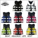 NEW《新作》【QUAKYSENSE】19BBクエーキーセンスライフジャケット4BUCKLE4バックルLIFEVESTJCI認定ジェットスキーマリンジェット水上バイク救命胴衣マリンスポーツ