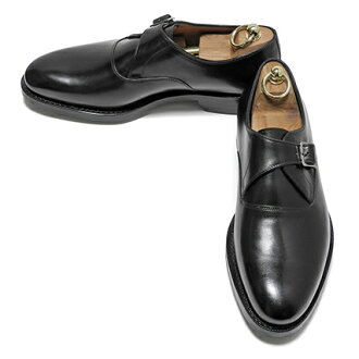 JALAN SRIWIJAYA (ジャランスリウァヤ) single Monk (calf-leather / Edward / die knight sole) Black