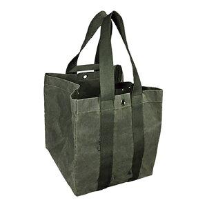 asobito(アソビト) 薪ケース(防水帆布) Olive