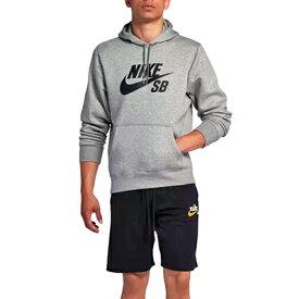 [40%OFF] Nike(ナイキ) パーカー (SB アイコン) (063: ダークグレーヘザー/ブラック)