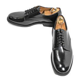 [20%OFF] SANDERS(サンダース) プレーントゥ (Officer Shoe) Black (2020年 春入荷)
