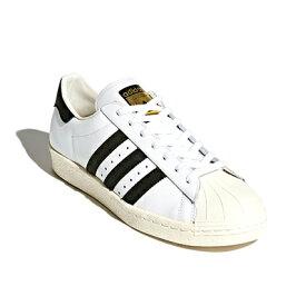 adidas(アディダス) スーパースター80S (ホワイト/コアブラック/チョークホワイト)