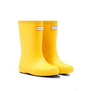 HUNTER(ハンター) キッズファースト クラシック ブーツ (KIDS FIRST CLASSIC/KFT5003RMA) Yellow