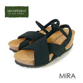 アルコペディコ サンダル MIRA ミラ ARCOPEDICO サルーテライン エリオさんの靴 ブラック/ネイビー/レッド/ベージュ [サイズ交換・返品の送料はお客様負担です]