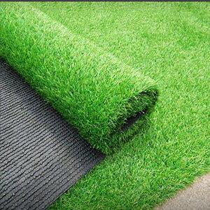 人工芝 2m×10m ロール 庭 芝丈35mm 人工芝マット 芝生 密度2倍 高耐久 固定ピン付 1年保証付き #569
