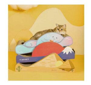 つめとぎ ねこ 猫 つめとぎ 段ボール 爪研ぎハウス 爪研ぎ 猫 猫爪とぎ 通気性 耐久性 爪とぎボックス 収納簡単 ストレス解消 砂漠【代引き不可】