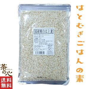 はと麦 国産 500g 生はと麦 精白はと麦 送料無料 はとむぎ ハト麦 スーパーフード 雑穀 雑穀米 はと麦ごはん