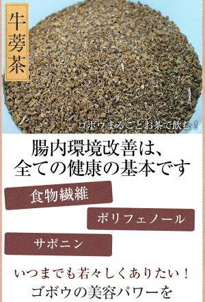 ごぼう茶国産3g30p九州産皮付きごぼう遠赤焙煎食物繊維健康茶送料無料