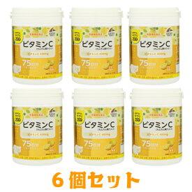 【6個セット】ユニマットリケン おやつにサプリZOO ビタミンC