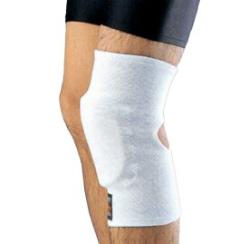 【期間中 ポイントUP!】ミツボシ 合気道用膝サポーター白色 片方(1ヶ)【合気道具】