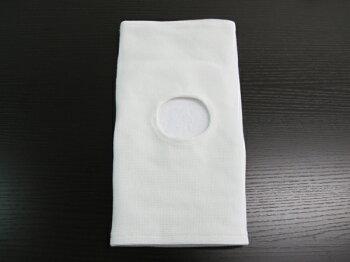 合気道用膝サポーター白片方(1ヶ)