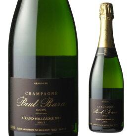 ポール バラ グランクリュ ブージィ ブリュット ミレジム 2012 750ml 並行品 ブジー シャンパン シャンパーニュ グランクリュ