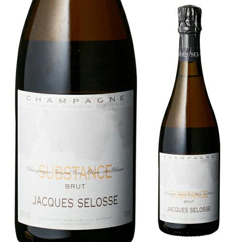 ジャック セロス シュブスタンス NV 750ml[Substance][シャンパン][シャンパーニュ][限定品]【お一人様1本限り】