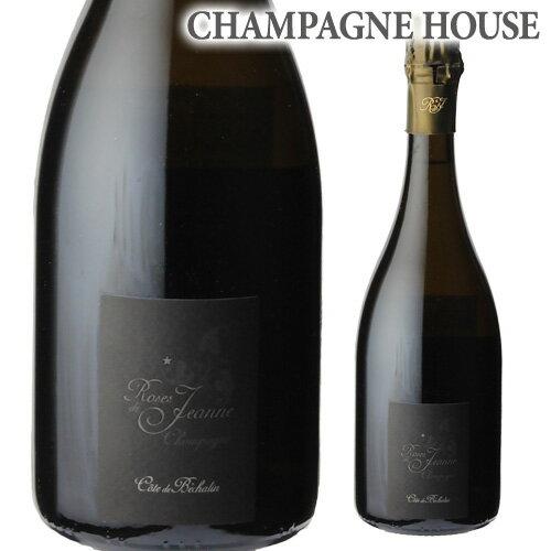 セドリック ブシャールローズ ド ジャンヌ コート ド ベシャラン ブラン ド ノワール 750ml(2009)[シャンパン][シャンパーニュ]