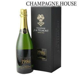 【P7倍】ジ ド テルモン ヘリテージ ブリュット [1986] 750ml[シャンパン][シャンパーニュ][古酒][プレゼント][記念日][祝い]P期間:5/8〜16まで