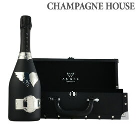 【P7倍】【送料無料】エンジェル シャンパン ブリュット ブラック NV BOX 750ml シャンパン シャンパーニュ 限定品 白泡 ナイト系 P期間:5/8〜16まで