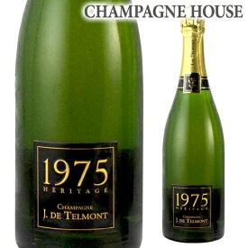ジ ド テルモン ヘリテージ (エリタージュ) ブリュット [1975] 750ml[シャンパン][シャンパーニュ][古酒][ギフト][記念 祝い][プレゼント]