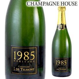 【P7倍】ジ ド テルモンヘリテージ (エリタージュ) ブリュット [1985] 750ml[シャンパン][シャンパーニュ][古酒][ギフト][記念 祝い][プレゼント]P期間:6/19〜27まで