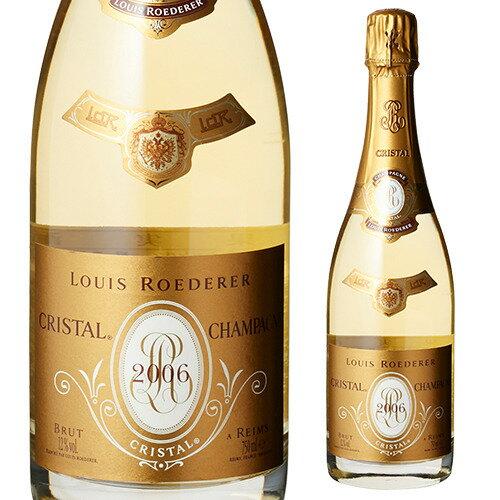 ルイ ロデレール クリスタル ブリュット[並行品] 750ml[ルイ・ロデレール][シャンパン][シャンパーニュ][プレゼント][記念日][祝い]【お一人様1本まで】
