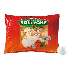 ソルレオーネモッツァレラ ヴァッカ(1gパール) 1kg 冷凍 チーズ I.Q.F パールタイプ モッツァレラ ソルレオーネ イタリア コストコ 虎姫