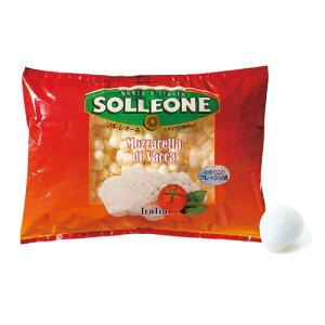 ソルレオーネモッツァレラ ヴァッカ(2gパール) 1kg冷凍 チーズ I.Q.F パールタイプ モッツァレラ ソルレオーネ イタリア 虎姫