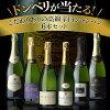 【送料無料】こだわり抜いた高級辛口シャンパン6本セットなんと!グランクリュ入!豪華飲み比べセットシャンパーニュ シャンパン<P10倍対象外>