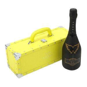 送料無料エンジェル シャンパンヘイローイエロー (黄) NV 750ml YELLOW BOX 専用箱入りシャンパン シャンパーニュ 光るボトル ルミナス ナイト系 <P20対象外>