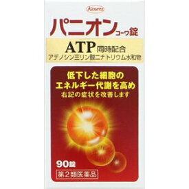 【第2類医薬品】【エネルギー代謝改善薬】 パニオンコーワ錠 90錠