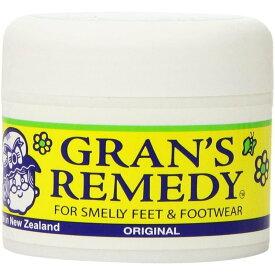 【送料無料】魔法の粉 グランズレメディGran's Remedy 50g レギュラー(無香料) 靴の消臭剤 足の匂い消し 定番