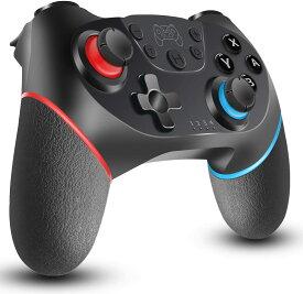 スイッチ Switch コントローラー Nintendo ニンテンドー Nintendo Switch ゲーム 任天堂スイッチ プロコン ゲームコントローラー 連射機能 HD振動 2重振動 連射機能搭載 接続 ワイヤレス 無線 定番