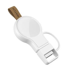 アップルウォッチ 充電器 ワイヤレス Apple Watch 全シリーズ対応 PSE認証済 持ち運び便利 コンパクト ワイヤレス充電器 定番