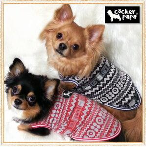 【犬 服】【メール便OK】【早割価格】【新作】エスニックボーダー TEE【コカパパ】【Cockerpapa】