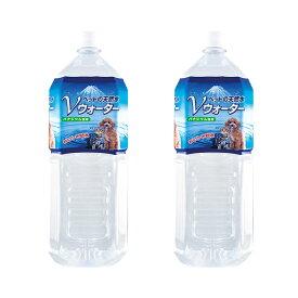 ペットの天然水 Vウォーター 2L 犬 ペットウォーター ドリンク 2本入り お一人様1点限り 関東当日便