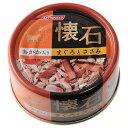懐石缶 おかか入りまぐろとささみ 80g 6缶入り 関東当日便