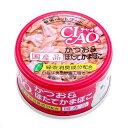 いなば CIAO(チャオ) ホワイティ かつお&ほたてかまぼこ 85g 2缶入り 関東当日便