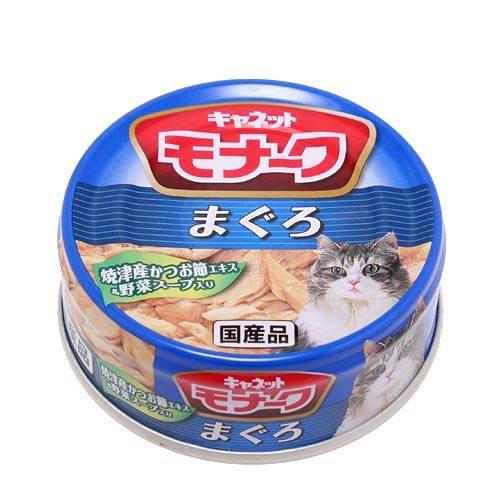 キャネット モナーク 缶 まぐろ 80g キャットフード キャネット 2缶入り【HLS_DU】 関東当日便