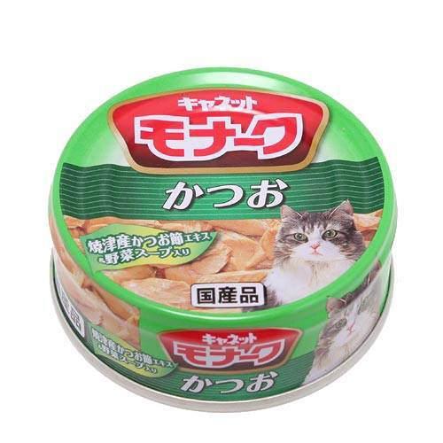 キャネット モナーク 缶 かつお 80g キャットフード キャネット 2缶入り【HLS_DU】 関東当日便