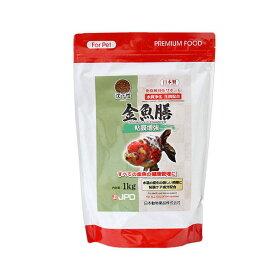 日本動物薬品 ニチドウ 金魚膳 粘膜増強 沈下性1kg 関東当日便