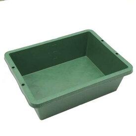 プラ箱40 緑(W61×D47×H20cm 約40L)お一人様3点限り 関東当日便