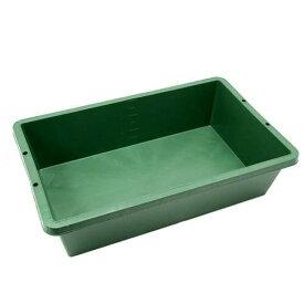 簡易梱包 プラ箱60 緑 (W82×D51×H21cm 約60L) お一人様2点限り 同梱不可 関東当日便